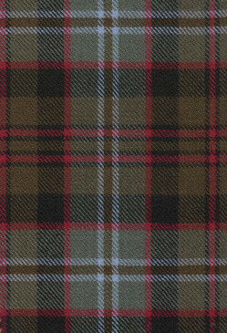 Lochaber Weathered Tartan Fabric Swatch