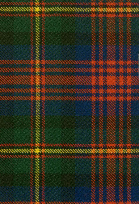 Logan Modern Tartan Fabric Swatch