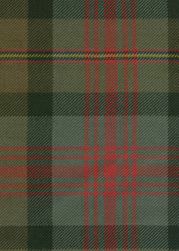 Logan Weathered Tartan Fabric Swatch