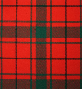 Macdonald Of The Isles Tartan Fabric Swatch