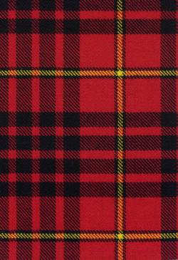 MacDonald Ancient Ardnamurchan Modern Tartan Fabric Swatch