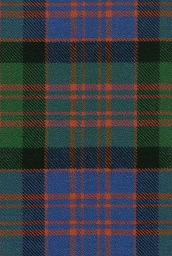 MacDonald Clan Ancient Tartan Fabric Swatch