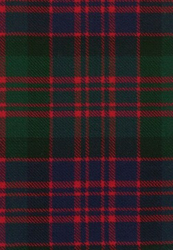 MacDonald Clan Modern Tartan Fabric Swatch