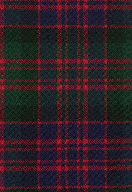 MacDonald Clan Modern Tartan Fabric Swatch