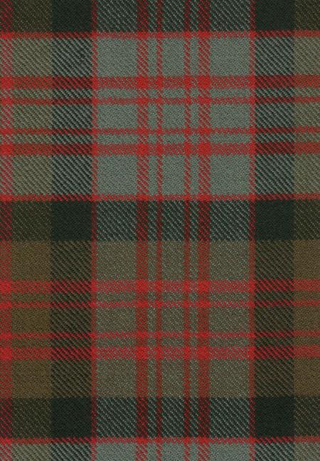 MacDonald Clan Weathered Tartan Fabric Swatch