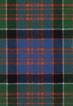 MacDonald Clanranald Ancient Tartan Fabric Swatch