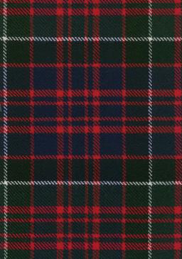 MacDonald Clanranald Modern Tartan Fabric Swatch