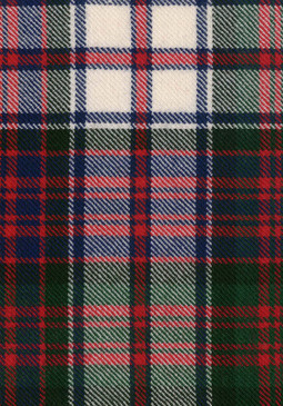 MacDonald Dress Modern Tartan Fabric Swatch
