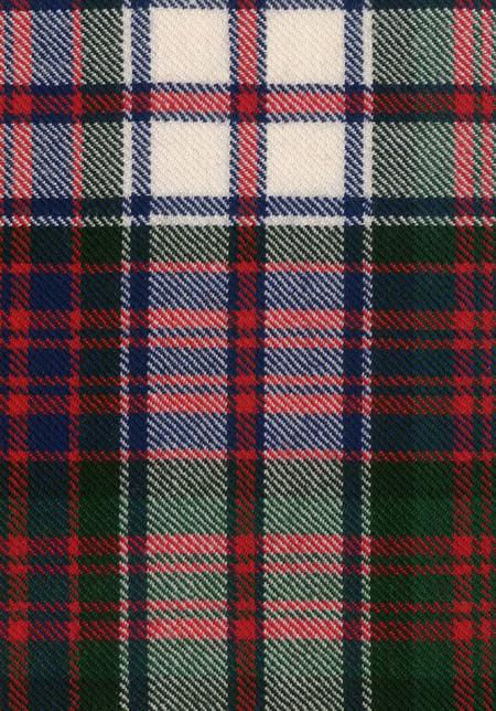 MacDonald Dress Modern Tartan Fabric Swatch