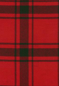 MacDonald Sleet Modern Tartan Fabric Swatch