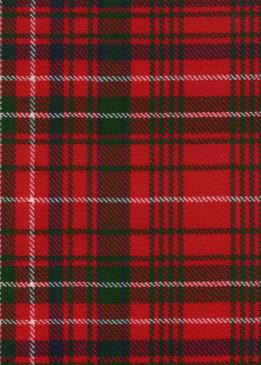 MacDonald Staffa Modern Tartan Fabric Swatch