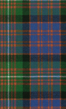 MacDonnell Glengarry Ancient Tartan Fabric Swatch