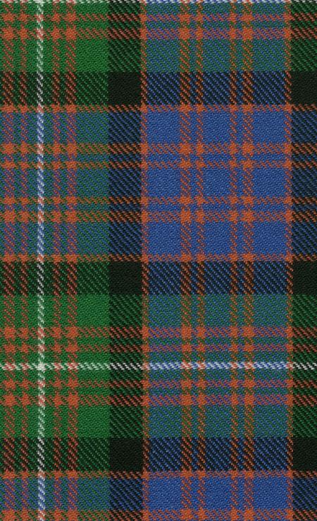 MacDonnell Glengarry Ancient Tartan Fabric Swatch