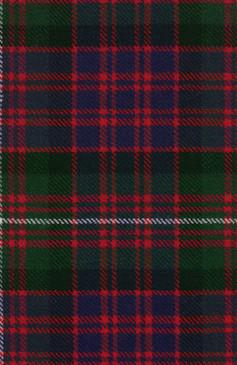 MacDonnell Glengarry Modern Tartan Fabric Swatch