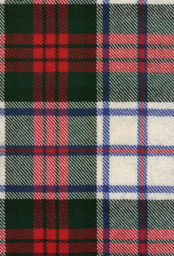MacDuff Dress Modern Tartan Fabric Swatch