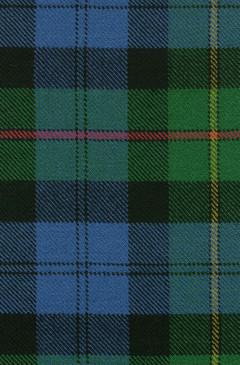 MacEwan Ancient Tartan Fabric Swatch