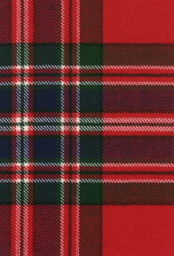 MacFarlane Clan Modern Tartan Fabric Swatch