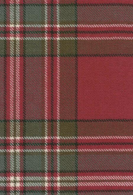 MacFarlane Clan Weathered Tartan Fabric Swatch