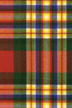 MacGill Modern Tartan Fabric Swatch