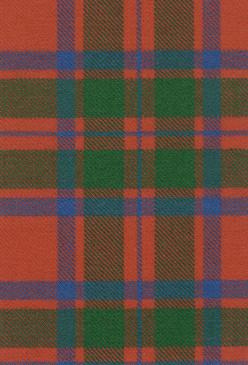 MacIntosh Clan Ancient Tartan Fabric Swatch