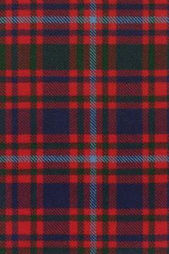 MacIntyre Clan Modern Tartan Fabric Swatch