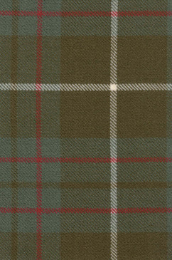 MacIntyre Htg Weathered Tartan Fabric Swatch