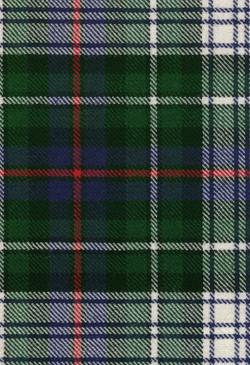 MacKenzie Dress Modern Tartan Fabric Swatch
