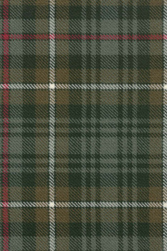 MacKenzie Weathered Tartan Fabric Swatch
