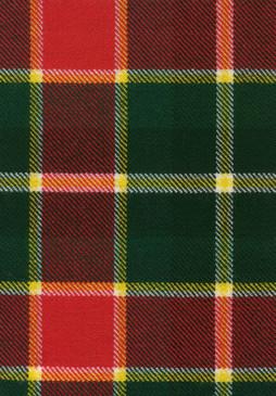 MacLachlan Old Modern Tartan Fabric Swatch