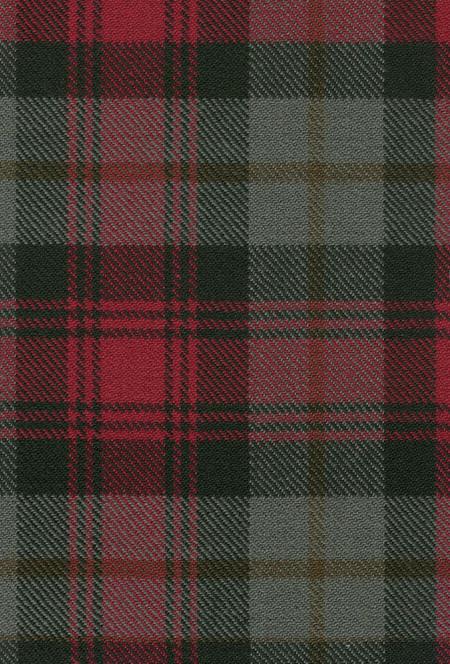 MacLachlan Weathered Tartan Fabric Swatch
