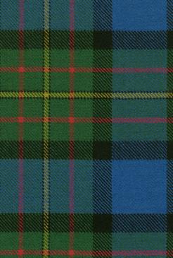 MacLaren Clan Ancient Tartan Fabric Swatch