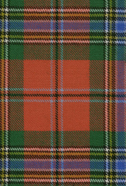 MacLean Duart Ancient Tartan Fabric Swatch