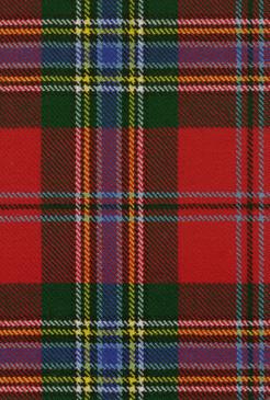 MacLean Duart Modern Tartan Fabric Swatch