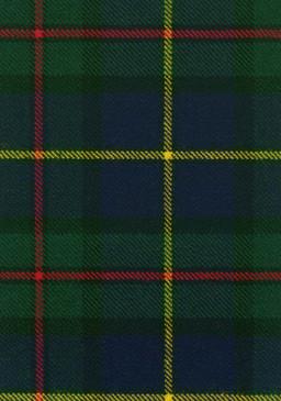 MacLeod Harris Modern Tartan Fabric Swatch