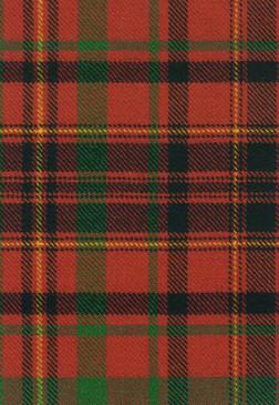 MacLeod Red Tartan Fabric Swatch