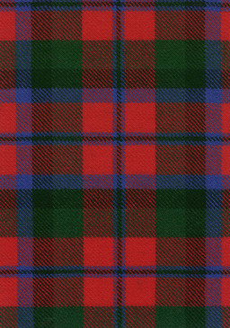 MacNaughton Modern Tartan Fabric Swatch