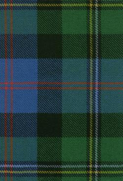 Malcolm Ancient Tartan Fabric Swatch