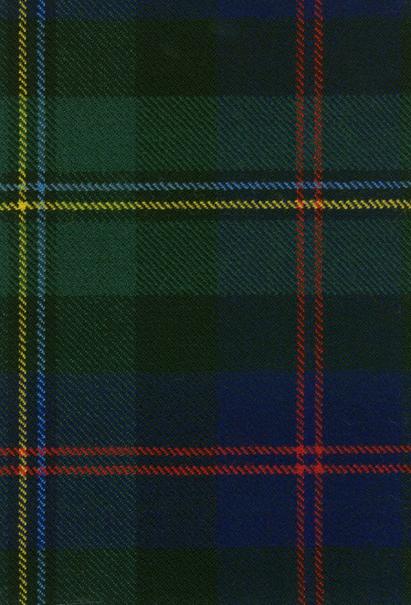 Malcolm Modern Tartan Fabric Swatch