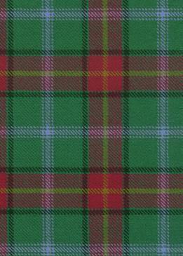 Manitoba Tartan Fabric Swatch