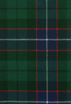 Mitchell Modern Tartan Fabric Swatch