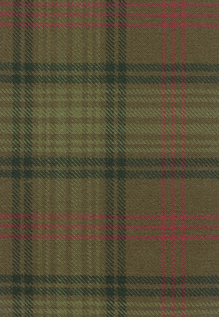 Ross Htg Weathered Tartan Fabric Swatch