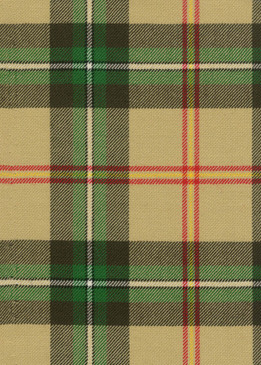 Saskatchewan Tartan Fabric Swatch
