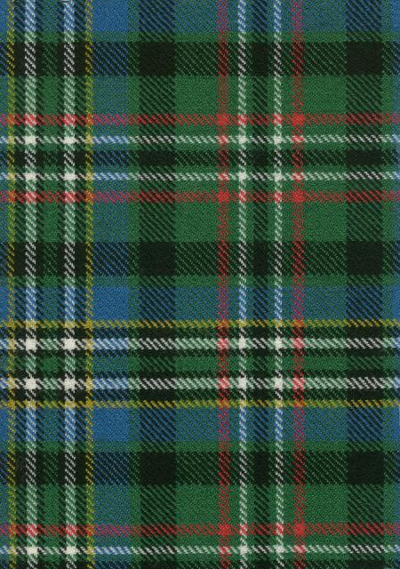 Scott Green Ancient Tartan Fabric Swatch