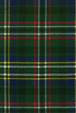 Scott Green Modern Tartan Fabric Swatch