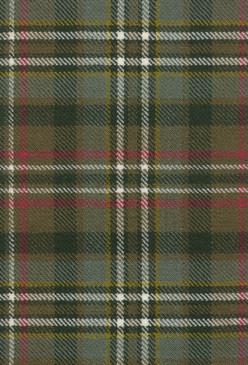 Scott Green Weathered Tartan Fabric Swatch