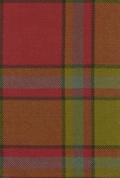 Scrimgeour Weathered Tartan Fabric Swatch