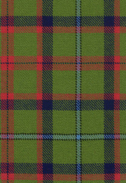 Shaw Tordarroch Green Ancient Tartan Fabric Swatch