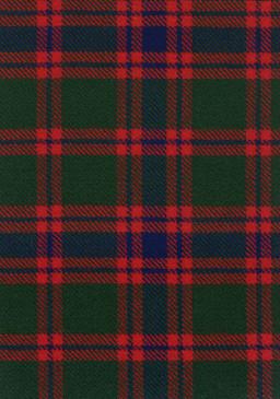 Skene Modern Tartan Fabric Swatch