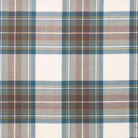 Stewart Blue Dress Tartan Fabric Swatch
