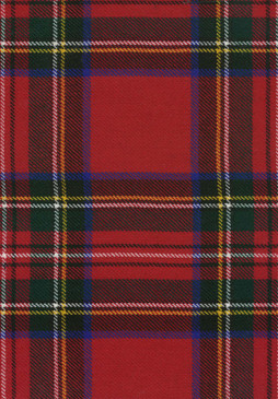 Stewart Royal Modern Tartan Fabric Swatch